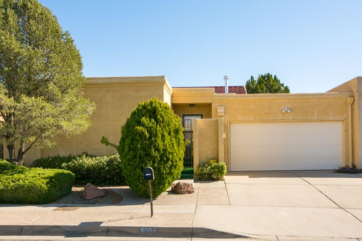 Wonderful opportunity in the Bear Canyon neighborhood!! One owner home with tons of potential! Unbeatable, central location close to shopping, restaurants, golf course and Academy activity path! 2 large bedrooms, each with their own full bath! Enclosed patio is bright and airy and adds some great indoor/outdoor living space! Spa room includes in-ground hot tub (condition unknown) and could be used as a work out room or studio! Neither patio or spa room are included in square footage. Furnace, refrigerated air conditioning and water heater are all brand new!! Come check this home out today!!