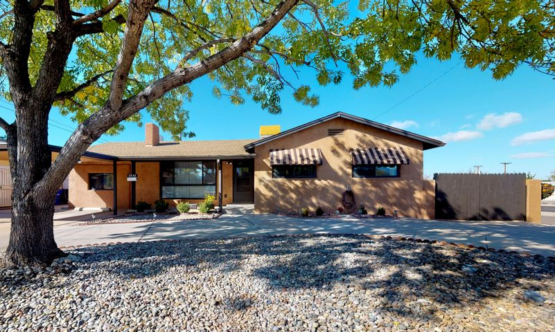 Welcome Home to centrally located Vista Encantada. Immaculately kept, Large Corner Lot w/ 1894 SF 4 bedroom, 2 bath, 2 + living areas + Office/master retreat/playroom has it all. Attention to detail & maintenance have been a common theme w/ this house. Gorgeous kitchen features matching appliances, beautiful countertops & white cabinets w/open floorplan.  Step down xtra Living room has separate entrance to backyard. Master bedroom has updated 3/4 bath en suite.  Off the master is a versatile flex space w/ separate entrance, could be used as a sitting room/office/playroom. Updates include: New Roof, Gutters in 2017,  Kitchen remodel 2017, 2 swamp coolers- 1 Mastercool new in 2017 &  2nd swamp cooler new in 2016, Electrical updated in 2008, Bathrooms remodeled in 2018, New sewer line in 2019
