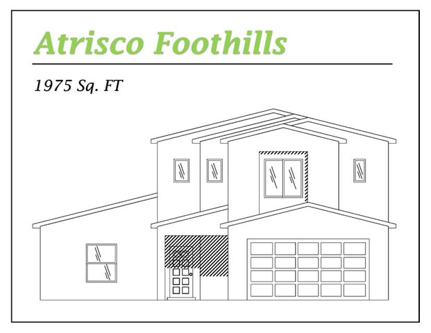 Proposed New Home in with Great View of the Bosque and Sandia Mountains. This home has all the space you'll need. There is a large kitchen / living great room plus a master suite down stairs. Upstairs offers an awesome second master suite with great views, plus bedroom 3 and a full guest bath. Upgraded Features inc: custom wood tile ceramic flooring, 9ft raised ceilings, upgraded lighting, electrical and cable outlets plus solid surface countertops. Large 2 car garage and side yard access possible. Don't miss out on this great deal. Come select your colors for this new house.