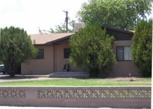 Great starter home with huge lot, double car carport, beautiful rock front wood-burning fireplace in the living room, a nice kitchen that opens up to the breakfast nook, and 3 good-size bedrooms.