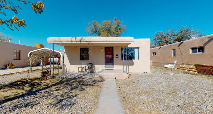 Charming North Valley home is ready for a new owner! Large lot with an oversized storage shed! Tons of updates to include refinished floors, wood fence in backyard, back deck, refrigerator, master cooler, 50 gallon water heater, tile in bathroom and kitchen, freshly painted stucco and interior, light fixtures, vanities, faucets and many more! Easy access to freeway, restaurants and shopping. Don't miss out on this beautiful home!