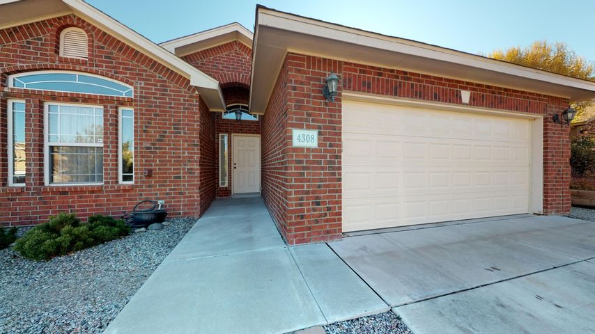 This Brick Home has 3 Bedrooms with A Study/Office with French Doors which can be used as a 4th Bedroom. There are 2 Living Areas 2 Full Bathroom's The Master Suite Bath has double Sinks and Jetted Tub with Sep Shower.  Home has Ceramic Tile and New Carpet and New Paint. Backyard and Front yard have been recently Landscaped.  Tuff Shed in Backyard remains with home. Home is close to Schools and Cottonwood Mall and other Shopping Stores and Parks.