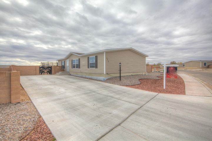Great opportunity to own a newer home 3 bedrooms 2 bath. Big yard with nice custom gate. Open floor plan nice and clean move in ready.