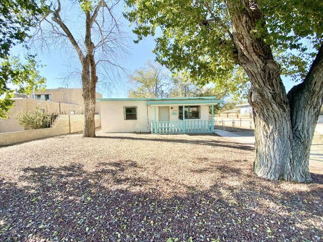 Outstanding opportunity to live in the center of Albuquerque and finish it in your taste; this home qualifies for just $100 down for FHA buyers!!! Equal Housing Opportunity. HUD case #361-396962 / listed UI (FHA un-insurable; needs over $10,000 in repairs to meet FHA min financing stds). HUD homes are sold AS-IS w/all faults; no pre-closing repairs or payments will be made for any reason. Home eligible for FHA 203K financing (when buyers can borrow more than price to fix / renovate to their desire). Outstanding possibilities! For Utility Turn Ons: Buyer pays all fees to get utilities on with accepted bid + $150 FSM deposit. HUD's Field Service Manager has declined to allow water turn on. PCR and disclosure available but not to replace home inspections. To submit bids visit HUD Home Store.