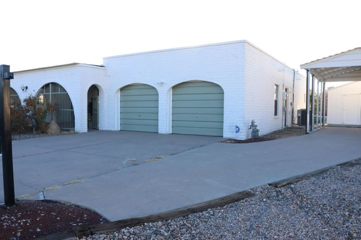 Perfectly located Home in Tierra Del Sol Golf Club area. This home is move in ready with plenty of closets and storage. The exterior has been updated and upgraded. New paint throughout the home with new security and outdoor lighting. There is a storage unit with new ProPanel Metal Roof. 3 bedrooms and dining room with new carpet. Kitchen, hall, laundry room with new waterproof laminate flooring. Secure enclosed front Courtyard; tiled foyer; formal dining room. Kitchen with new countertops and tiled backsplash, new hardware and fixtures; new stainless steel appliances: electric range, hood/microwave, dishwasher; and refrigerator with French doors and bottom freezer. Living Room with Raised Ceiling, laminate flooring, wet bar, and fireplace. Call for more information today.