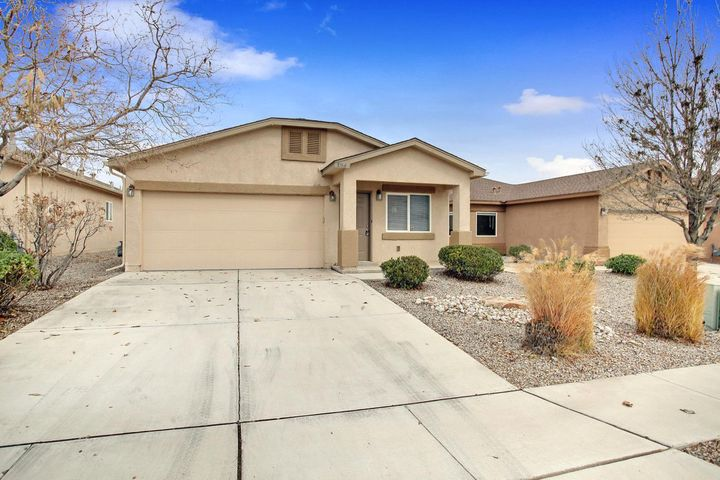 This Cozy 2 bedroom 1 bath is located in a quiet neighborhood in Rio Rancho. An open living area with a spacious kitchen featuring resurfaced counter tops and  NEW STAINLESS STEEL APPLIANCES.The new carpet, fresh paint and other upgrades make this home MOVE IN READY. Priced just right and wont last long!