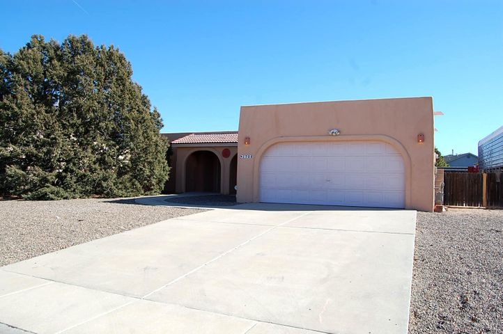 OUTSTANDING, IMMACULATE newly reconditioned single story, handicapped accessible home in Rio Communities. Turn key ready for you to move in without any extra effort! Excellent condition with brand new carpet & paint. Fantastic open floor plan boasts living room with kiva fireplace, entry, & dining area. Kitchen includes appliances & features breakfast nook with natural lighting from bay window separate from formal dining room. Spectacular lighting throughout the house with numerous skylights. Includes several ceiling fans for added comfort. Layout of the home is unique with extra spacious private Master suite entered through French doors off living area. Large walk-in closet & 3/4 bath with double sink vanity. On the other end totally separate from master are two more bedrooms & full bath.