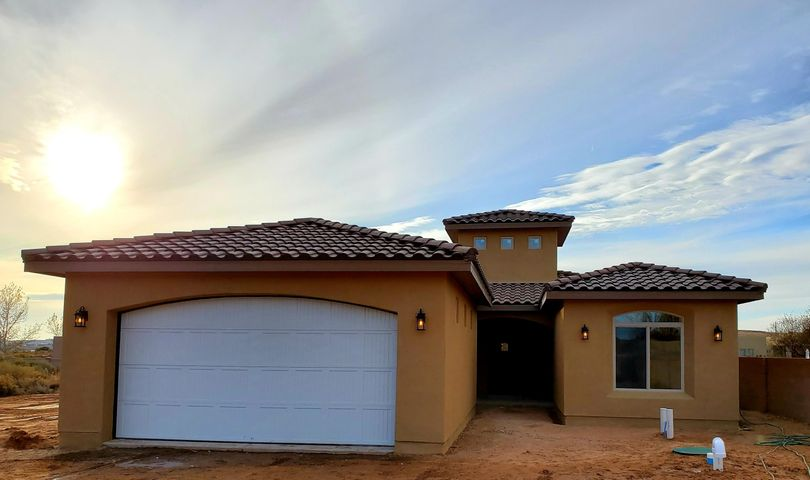 Beautiful Custom Home under construction! The finishes on this home will be Stunning!  Home is on 1/3 acre, Amazing view of the Sandia Mountains. Call me for All the details. Close to shopping and restaurants and much more. Attention to detail throughout the home. A must See!