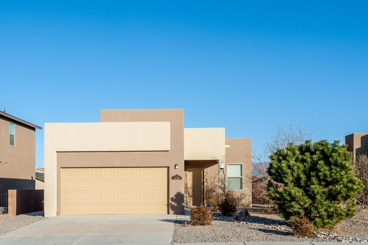 This two bedroom home shows like a model home!  Tile floors in main areas, carpet in bedrooms.  Granite counters, refrigerated air, large backyard, and mountain views. Located near parks, schools and shopping.  One owner, meticulously cared for!