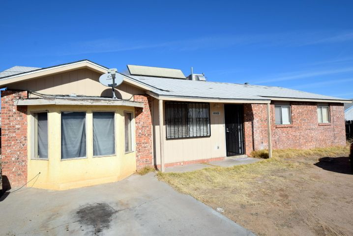 This home features 5 bedrooms and 2 living areas.   Garage has been converted to 5th bedroom.  Tile flooring throughout.  Large Backyard.  Home is sold in ''as is'' condition.   Great Deal & Ready for your Ideas!