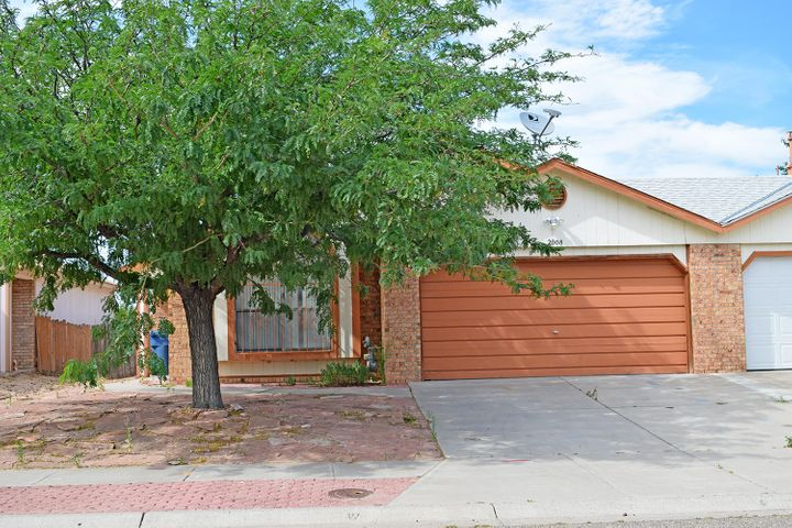 With a little more love, this home has instant equity potential, and will be a great investment. Home is situated in a highly desirable neighborhood and middle Los Lunas location. Just around the corner from shopping and restaurants, and only minutes from the interstate.Makes the trip to Albuquerque a breeze.  This one is a great starter home, or investor opportunity. Seller is in process of getting USAA to release for new roof. This should be done very soon. Seller is selling the home in as-is, where-is condition except for impending roof repair. A diamond in the rough awaits the buyer who doesn't mind some fixing and updating.