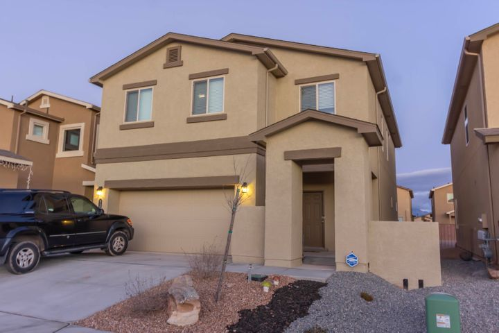 Beautiful, like NEW 2019 home in the desirable Taos II at The Trails.  Built this year, this move-in-ready ''Voyager'' home will be sure to impress you with its open and bright 2,265 square foot floor plan featuring 4 bedrooms, 2.5 bathrooms, a loft, gorgeous kitchen w/ granite counter tops, ceramic tile floors in all wet areas, large master suite with double sinks, beautifully tiled shower, and walk in closet.  Refrigerated air.  You will NOT be disappointed in this amazing 2019 built home!