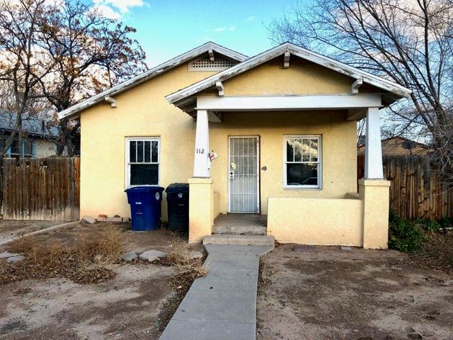RARE Investment opportunity. As close as you can get to the UNM campus, this unique find has amazing potential being zoned for R-ML. Investment purchase would be a conventional homestyle loan, for primary owner occupied can use and FHA 203(k) rehabilitation loan or cash buyer. If you are seeking to build or renovate then make sure you add this property to your list!