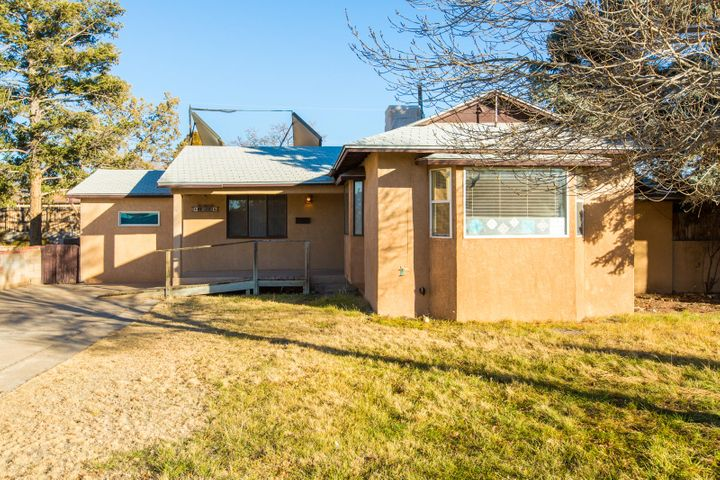 Wonderful opportunity to fix up a conveniently located 1950's house close to the uptown area, tennis courts, the freeway and more. Laundry room added to front bedroom could become a master bathroom and closet greatly improving the value of the house. Come see the incredible opportunity today.