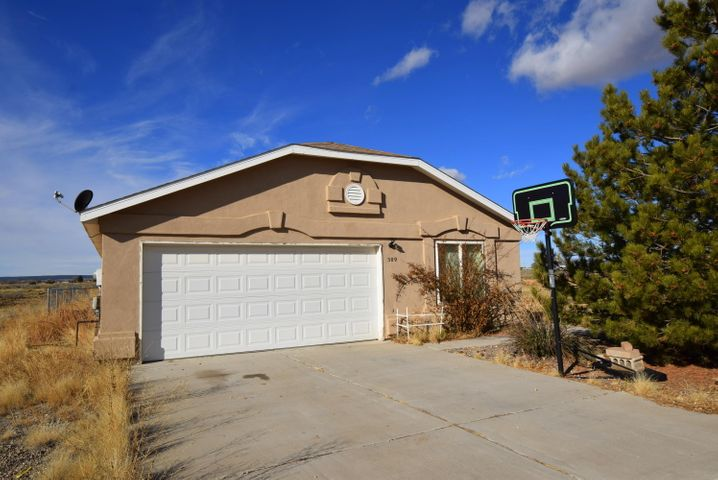 This 3 bedroom and 2 bathroom Ranch styled home with 1386 sq. ft. sits on .15 acres. There are vacant lots on either side providing endless scenery. Along with being spacious, the backyard includes a storage shed and a sectioned off area ideal for animals.*NEW WATER HEATER INSTALLED*