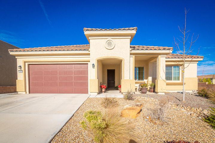 Gorgeous Home in the Del Webb Mirehaven 55+ Community! This 2016 built 'Pursuit' Model is 2017SF with 2BR's, 2 Baths plus an  Office/Den which has french doors!  The garage has a 4FT Ext. plus a 8.11 x 7.9 additional storage space and an epoxy floor!! Kitchen has beautiful granite, large island, plenty of cabinet space, gas cooktop, wall oven and microwave and Pantry.  Home was built with several upgrades including an exterior gas fireplace, Master BR and Cafe (nook) have the bay/bowed walls, 18'' tile, laundry sink. Master BR has a huge walk-in closet and shower w/ bench. Beautiful covered 20 x 12 Patio & private backyard with custom landscape including a nice pergola! Builder warranties are transferable! Enjoy the Amenity Center with daily activities, gym, pool, pickle ball, tennis,etc!!