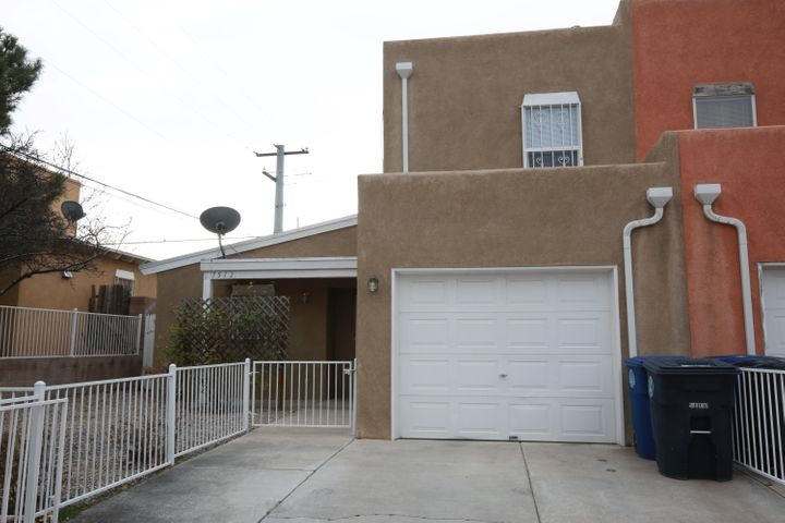 Incredible townhouse opportunity! This home has been well maintained, with new carpet, new laminate flooring and new paint! The downstairs features 1 large bedroom and bathroom, wide open concept with kitchen opening to dining and living room combined.  The upstairs offers 2 spacious bedrooms, an additional bathroom and dedicated laundry room.  This 20 year old town home is sure to impress.  See it today while you still can!