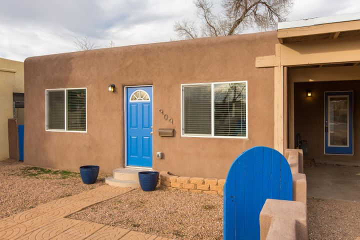 This North Valley charmer was completely remodeled in 2017. Updates include stucco, low-e double pane windows, skylights, interior texture, paint, trim, doors and hardware, custom cabinetry, granite countertops, stainless steel appliances, carpet, tile, gravel front yard. Kitchen has plenty of cabinet and countertop space, tile backsplash, gas stove/oven, dishwasher, microwave, refrigerator, pass-thru to dining room. Floorplan offers great room, dining room, kitchen, study, mud room, laundry room, large walk-in pantry (could be closet) and 3 bedrooms and full bath. Two car carport, large lot, backyard access, workshop. Roof maintenance performed 12/19.