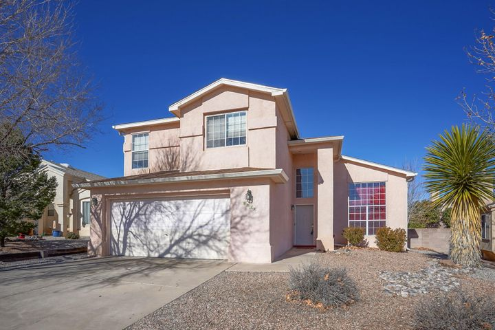 Open House Sunday 1/19 from11am-1pm. Wonderful home located in the Ventana Ranch Las Casitas Subdivision.  This lovely 4 bedroom 3 bath home with 2+ living areas, high ceilings and new carpet shows pride of ownership.  A wonderful location and a place you will want to make your own! Master bath remodeled in 2017 with oversized glass enclosed shower and subway tiles. You won't want to miss the balcony off the master bedroom; a perfect place to enjoy your morning coffee.  Formal dining room and layout is great for entertaining your guests.  Backyard is spacious and on the low maintenance side.