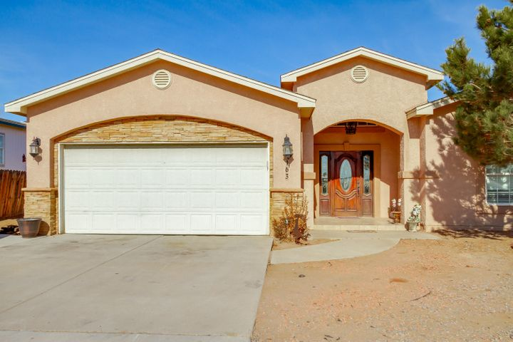 Beautiful custom home, open floor plan with vaulted ceilings, granite countertops, breakfast nook plus formal dining area. Master bath has walk-in shower, jetted tub, double vanity, large walk-in closet. 1/2 acre lot with backyard access, with additional 1 car garage/additional storage in the back. NO HOA! Plenty of room for all your toys. Come see this home today!!