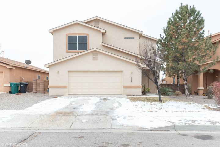 Gorgeous home in Rio Rancho. Move in ready. Four bedrooms and 2.5 baths. Large living area, ample kitchen with plenty of cabinet space and new stainless steel appliances. New flooring through out home and well as fresh paint. New Roof as well.