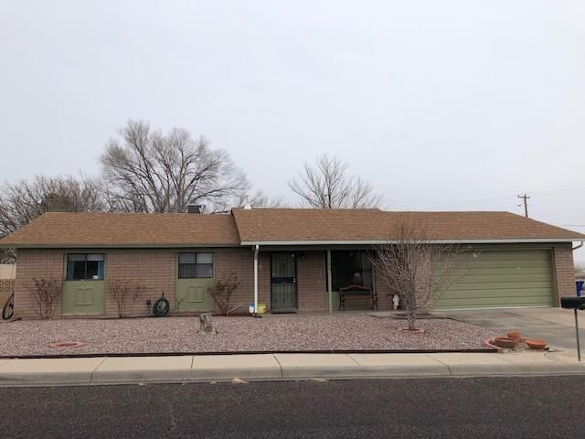 A beautiful home located right down the street from New Mexico Tech.  Home features 3 bedrooms, 1 1/2 baths, updated flooring, refigerated air, a 2 car garage, covered patio, fully fenced yard and so much more.  The open floor plan is perfect for entertaining.  Call today to schedule a showing.