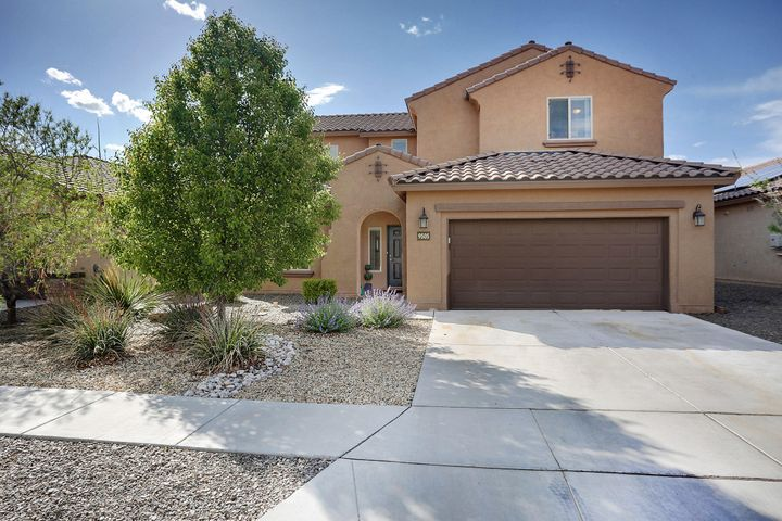 Be Nimble - Be Quick !   This one won't last long. Incredibly maintained Pulte NM Green Silver Certified home in the Boulders.  Open flowing floorplan with Great Room PLUS second living area/loft upstairs.  Gourmet kitchen overlooks great room w/modern cabinets, stainless appliances w/tile accents.  Master Bedroom is downstairs w/spa like bath & huge closet.  3 bedroom upstairs.  Jack n Jill bath plus seperate bed & bath for guests or inlaws.  All rooms have walk-in closets.   2 1/2 Car Garage is perfect for hobbies or workshop area.  Private backyard with grass and covered patio.   Great Room has high ceilings with lots of windows and cozy but dramatic fireplace.  Come see this great home today.