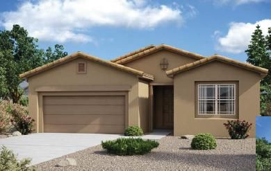Another Brand New Luxury D.R. Horton home in popular Stormcloud subdivision. Quick freeway access to downtown, Kirtland Air Force Base, and UNM. Close to parks and the petroglyph national park with hiking trails and city views. This energy efficient home has a huge living area, convenient for entertaining, home has lots of upgrades and a modern color package. Granite in kitchen and baths and an oversized garage. 3 bedrooms plus a bonus ''tech room''. Come out to the DR Horton subdivision to see this home and others. HOME UNDER CONSTRUCTION. EST. TIME OF COMPLETION 5/4/2020