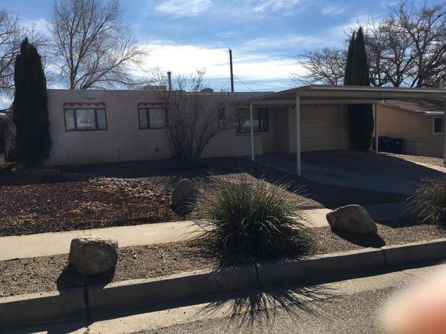 Affordable and comfortable size four bedroom home on cul de sac street.  Has a two car carport plus single car attached garage.  Fenced back yard with two storage sheds and covered patio.     Move in ready.