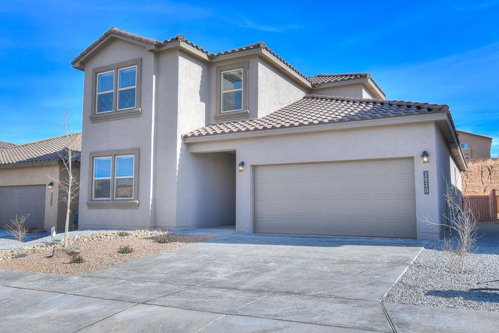 New ''Downstairs Master'' Home in Volterra, A beautiful community with so much to offer in SE ABQ.  This Never Lived in Home is our newly designed ''Kiley''floor plan. An incredible 2-story with a dream kitchen and spacious entry. This 4 Bedroom plus Game room 3 full Bathroom home has Granite kitchen counter tops, Gas Appliances, Walk in Closets, Master Suite with Separate tub and tiled shower. Close to ABQ Uptown , I-40, entertainment, restaurants, and Kirkland AF Base.