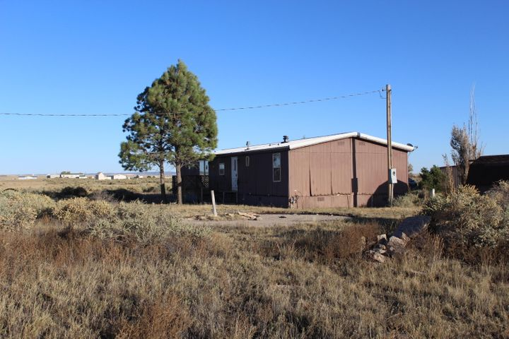Great potential with this permanent foundation double wide sitting on 3.64 fully fenced acres.  Already boasting a metal roof, just a little more TLC and this 3 bedroom, 1 and 3/4 bath home can be just right.  The fiberglass septic system has already been inspected by the state and given the green light.  Bring your ideas and make this country spread your own.