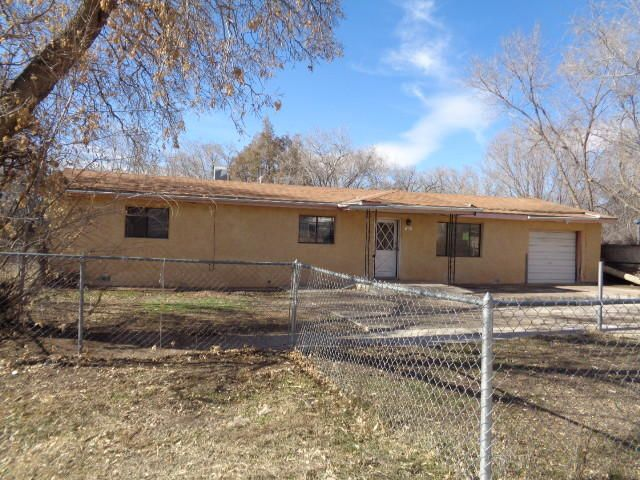 Fantabulous property zoned commercial.  So many possibilities for this 1500 SF home on .84 acre lot.  It has a large living room, dining area, kitchen and laundry room.  The larger bedroom does not have a closet.