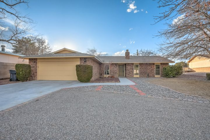 under contract accepting backup offers. .Beautiful 3-bedroom house on an oversized lot.  Two master bedrooms with one opening up to a covered patio.  Open floor plan, spacious kitchen and two living areas.  Walking distance to Paradise Hills Golf Course.