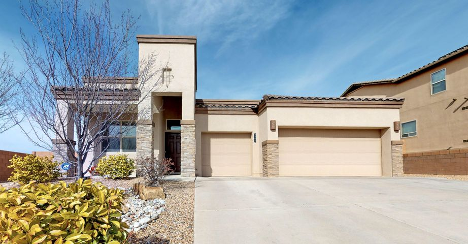 **OPEN HOUSE 2/22 from 12-2pm**This one story Cabezon beauty will not last long! Situated on a private oversized fully landscaped lot with possible backyard access and raised garden beds. If you want to add a hot tub there is a pad already there! Enjoy views and fire pit from the 2nd tier in the backyard. Inside you will find an open floor plan and raised ceilings. In the kitchen the upgraded cabinets are staggered to give that custom look as well as a large pantry and built-in appliances. Large master bedroom with 2 walk-in closets, double sinks and separate garden tub/shower. On top of all of this you get all the energy efficient appliances, fixtures, tankless water heater and more!