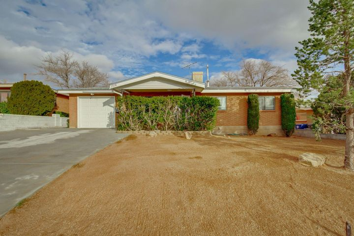 Wow...come see this amazing home located close to KAFB, the Airport, UNM, Puerto del Sol Golf Course and other amenities. This well taken care of home shows the pride of ownership. Original wood floors greet you upon entry, there is an update kitchen with stainless steel appliances and granite countertops.