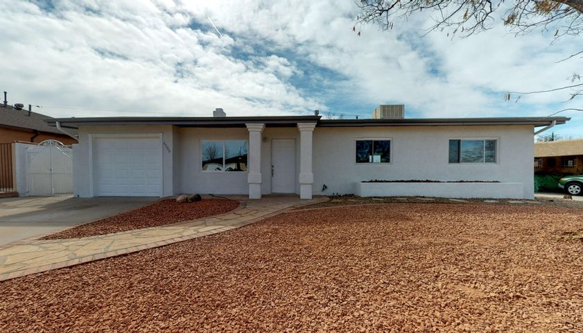 Under Contract Taking Backup OffersCome fall in love with this beautifully updated Uptown home! Complete with contemporary finishes, this 3 bedroom boasts stainless appliances, granite countertops, and master suite with walk-in shower and room to entertain with two living areas. Located in the heart of Albuquerque- only minutes away from schools, parks, great shopping, and dining. Call for your private showing and make this house your home today!