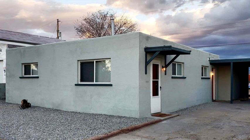Come see this adorable, updated home. The open floorplan, tile in the bath, and updated kitchen are a must see. Park a car in the shade of the carport.