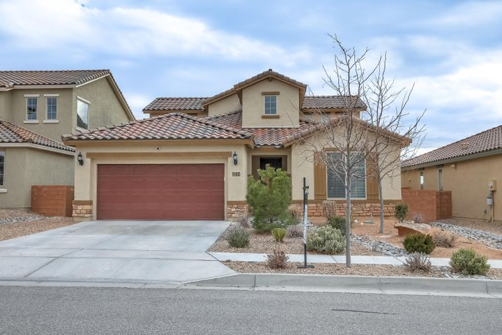 WELCOME HOME to this spacious nearly new popular Pulte Model.  High ceilings, grand kitchen island, down stairs Master, walk in closets and a large upstairs loft are just a few of the pluses of this beautiful property in the desirable Cabazon neighborhood.  Close to parks, restaurants, and shopping.  Come out and  take a look at this beauty!