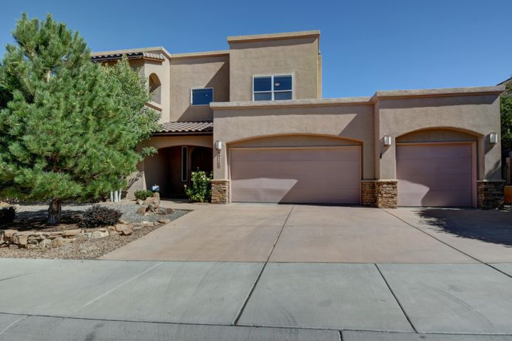 Beautiful home located within gated community! Spacious 4 bedroom home plus an office and loft area! Updated kitchen with oversized walk in pantry, stainless steel appliances, granite countertops, double ovens and central vac! Two walk out balconies. Home has radiant heat. Grand master bedroom and spacious bedrooms