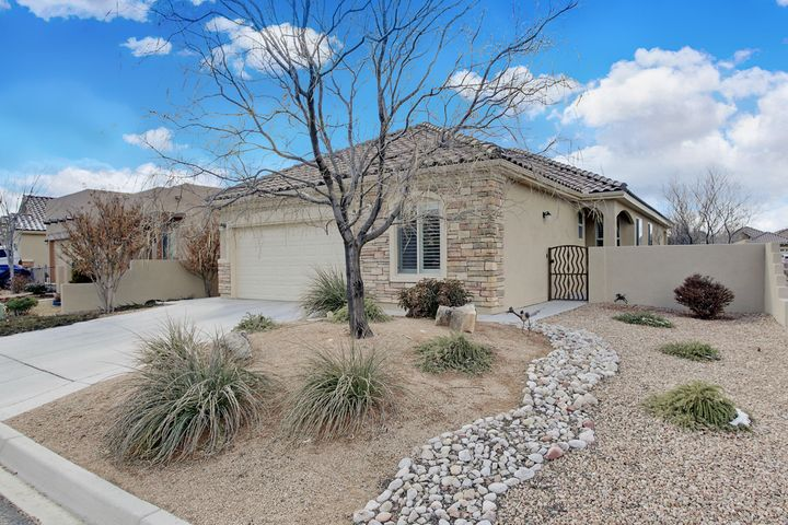 Retire in Style, You've earned it!  This great over 55+ Del-Webb community is perfect for active living.  Shows like a model ! Gourmet kitchen w/ natural cherry raised cabinets w/ pull-outs, newer appliances & divine granite counter tops.  French doors to charming low maintenance backyard w/covered patio & sunshades perfect for relaxing by yourself or with friends.  Great Room with raised ceilings, tile floors and plantation shutters.  Master Suite separate from other bedroom & study.  Master bath feels like you're at the spa, huge walk-in shower, large closet & linen closet.  Study/Office/Den boasts beautiful custom made built in bookcases.  This community  offers a clubhouse with many daily activities, indoor/outdoor pool, hot tub, recently updated gym, bocce ball, putting green