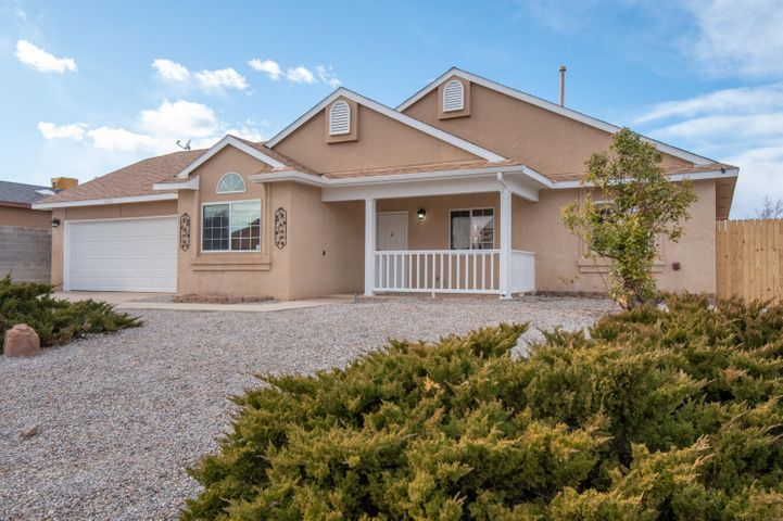 Beautiful home, completely re-done. All new Cabinets, flooring, counters, light fixtures, vanities, and fresh paint, inside and out. Refrigerated air, washer, dryer, refrigerator, microwave andstainless steel sink.Polybutylene plumbing replaced.This beautiful home is move in ready.