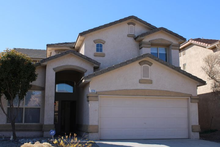 This is the one you dont want to miss...This is one of DR Horton's most popular models.It is located in the beautiful Astante subdivision in Cabezon. From the moment you enter the home,you will be amazed at how open this floor plan is,big beautiful windows that let so much natural light ,the master bedroom is located downstairs, master bath with garden tub,separate shower with a large walk in closet. It has Soaring cellling's in the Great room,that extend 2 stories high. Up stairs has a large Loft and 2 large bedrooms.the loft has a covered patio with privacy fencing. The landscaping in the front and back is xeriscape so very easy to maintain. This house has had significant new improvements including new carpet,new AC unit,dishwasher,garage disposal,garage ,and many more. this is a winner!