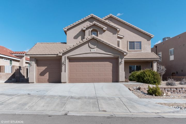Move in Ready! This home has four spacious bedrooms and 2.5 baths. Formal living and Dining room, plus a large kitchen with plenty of cabinet space and new stainless steel appliances. Granite in kitchen, raised ceilings, large patio and 3 car garage. Fresh paint and new carpet.