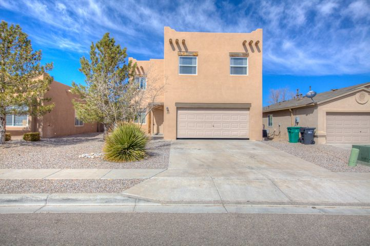Great two story home in Northern Meadows. Kitchen open to living room which has a cozy kiva fireplace. Up-stairs enjoy a loft plus 3 bedrooms. Huge back yard. Some views must see make offer today.