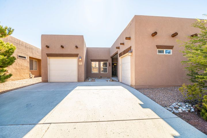 Wonderful Pueblo Style home in Del Webb Alegria, a gated 55+ Community! This Chama Floorplan offers 1977sf and has two Master Suites and a Den/Office or third bedroom, 2.5 Baths and two separate garage spaces, large floor tile, SS Appliances, gas cook-top, W/D stay! REF AIR! NEW ROOF TO BE INSTALLED SOON!!! WILL HAVE A TRANSFERABLE WARRANTY! Nice corner lot with easy maintenance front and backyards. There is an enclosed sun-room to enjoy all year around! Walking path is right across the street! Enjoy the clubhouse which offers daily activities, gym, indoor and outdoor pool, bocce ball, etc!