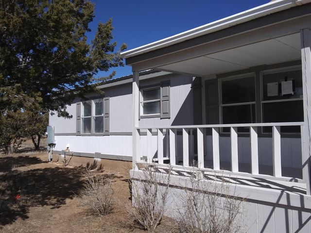 Great home Lots of work done on this one nice and clean fresh paint new flooring in Kitchen and living room. New Paint outside. Losts of trees. Call Listing Broker to show will let u know where key is at. Also will have home next door 2 bedroom one bath. at $95,000 also in very nice condition. Key in Lock Box will open both homes