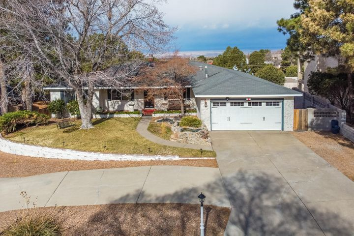 You really CAN have it all! City and mountain views, swimming pool, tennis court (resurfaced 2018) , refrigerated air (2017), water feature, AND a retro 50's dining area all on a cul de sac street! Kitchen appliances, washer, and dryer less than 3 yrs old. Hot water heater replaced Feb 2020. Electrical panel upgraded fall of 2019. AquaSauna home filtration and water softener less than 3 yrs old. Updates made to dining room, bonus room, living room, master bedroom, and deck. Newer lighting fixtures, fresh landscaping, security system approximately 2 yrs old. Garage doors approximately 2 yrs old. Home inspection has already been completed! Don't let this one get away! See it today! Home Inspection already completed!
