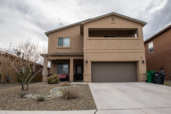 This Amazing home features 4 bedrooms, 3 baths, plus a Study (could be 5th bedroom)  This Beautiful ''Roark'' home has an oversized 2 Car Garage, a loft, refrigerated air for those dry summer days. The home  has a transferrable Leased Solar, keeping your electric bill low. Has plenty of room for your family to grow. The Dream Kitchen offers Granite kitchen counter tops, Gorgeous Island and a pantry. The Master Suite features a tiled shower, massive walk in closet and a private balcony. There is NO PID, low HOA (front landscape included) and a backyard perfect for entertaining that includes a hot tub. This home is so new some warranties are still in place and transferrable. Move in ready homes are moving fast so if you can only see a few homes makes sure this one is on your lis