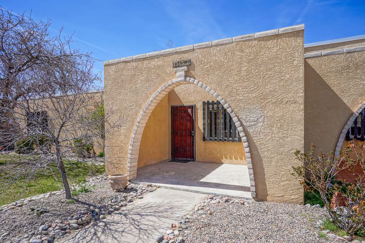 55+ move-in ready THREE BEDROOM, two bath condo. Community pool, clubhouse, laundry, workout room, & library on the grounds. HOA pays for water & trash. Convenient to NM528 and close to shopping, restaurants, clubs, and recreation opportunities.