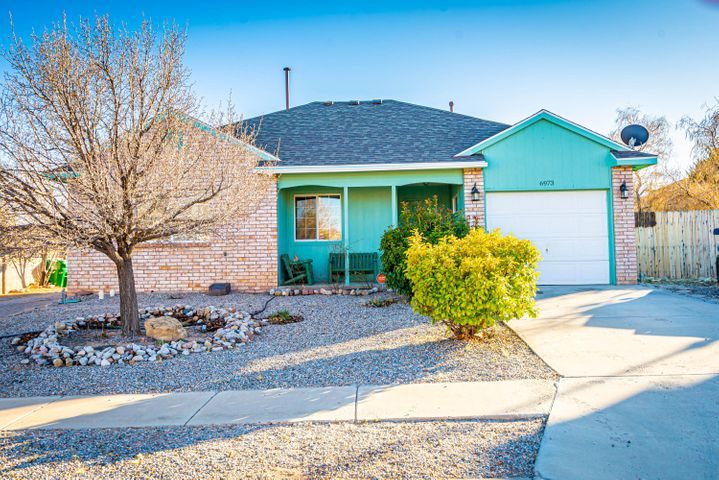 This is the one you've been waiting for! Single story 3 bedrooms, 2 baths , and  office space located in Enchanted Hills!This home is located on a HUGE acre lot with backyard access and front patio. NO HOA. This house is ready for a new homeowner. Schedule a private showing today!